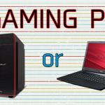 ゲーミングPCはデスクトップとノートのどちらがおすすめ?