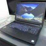 パソコン工房 LEVEL-15FX088-i7-LXSSをレビュー シンプル&リーズナブルなGTX 1050 Ti搭載ゲーミングノート